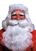 Straight White Santa Wig and Beard