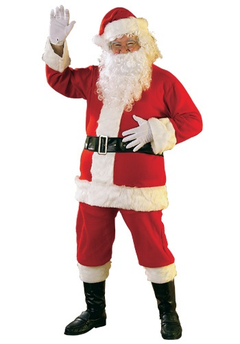 Flannel Santa Claus Costume