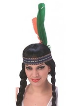 Indian Feather Headband