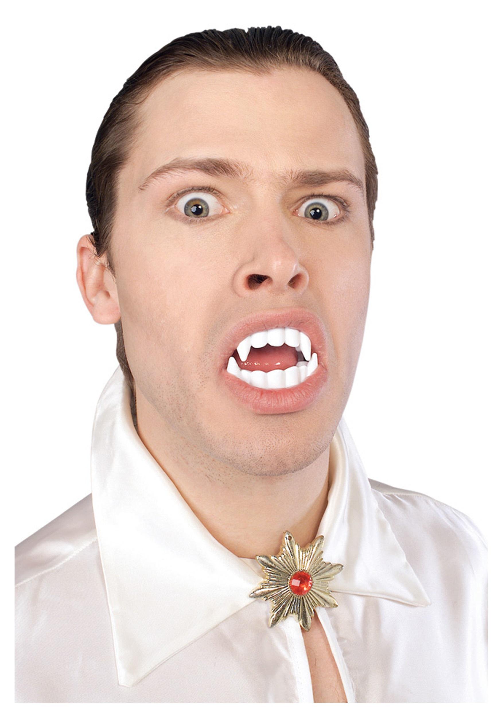 Cheap Vampire Fangs - Halloween Costume Classic Vampire Teeth