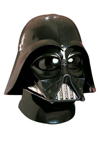 Deluxe Two Piece Darth Vader Helmet