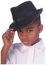 Childrens Gangster Fedora Hat