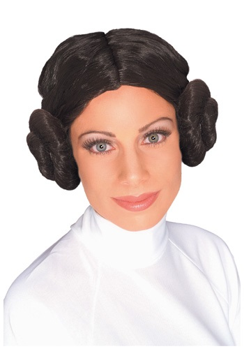 Princess Leia Costume Wig