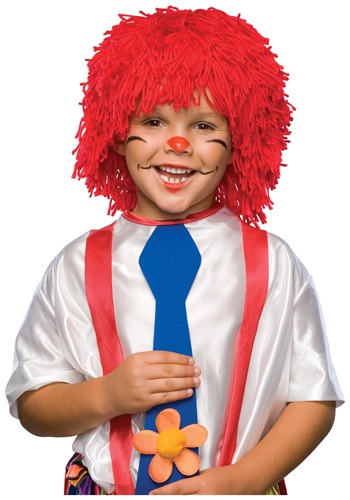 Boys Raggedy Andy Wig