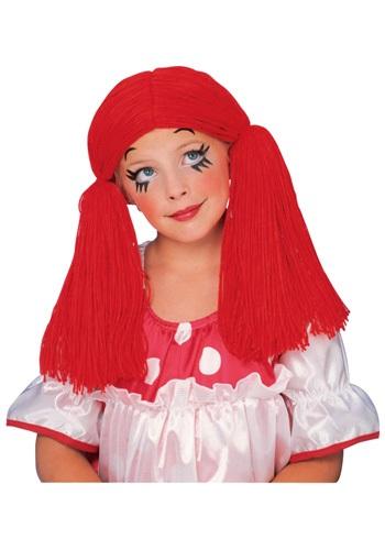 Red Raggedy Doll Wig