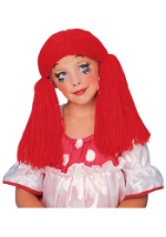 Red Raggedy Doll Wig