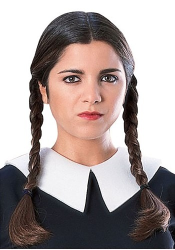 Wednesday Addams Costume Wig