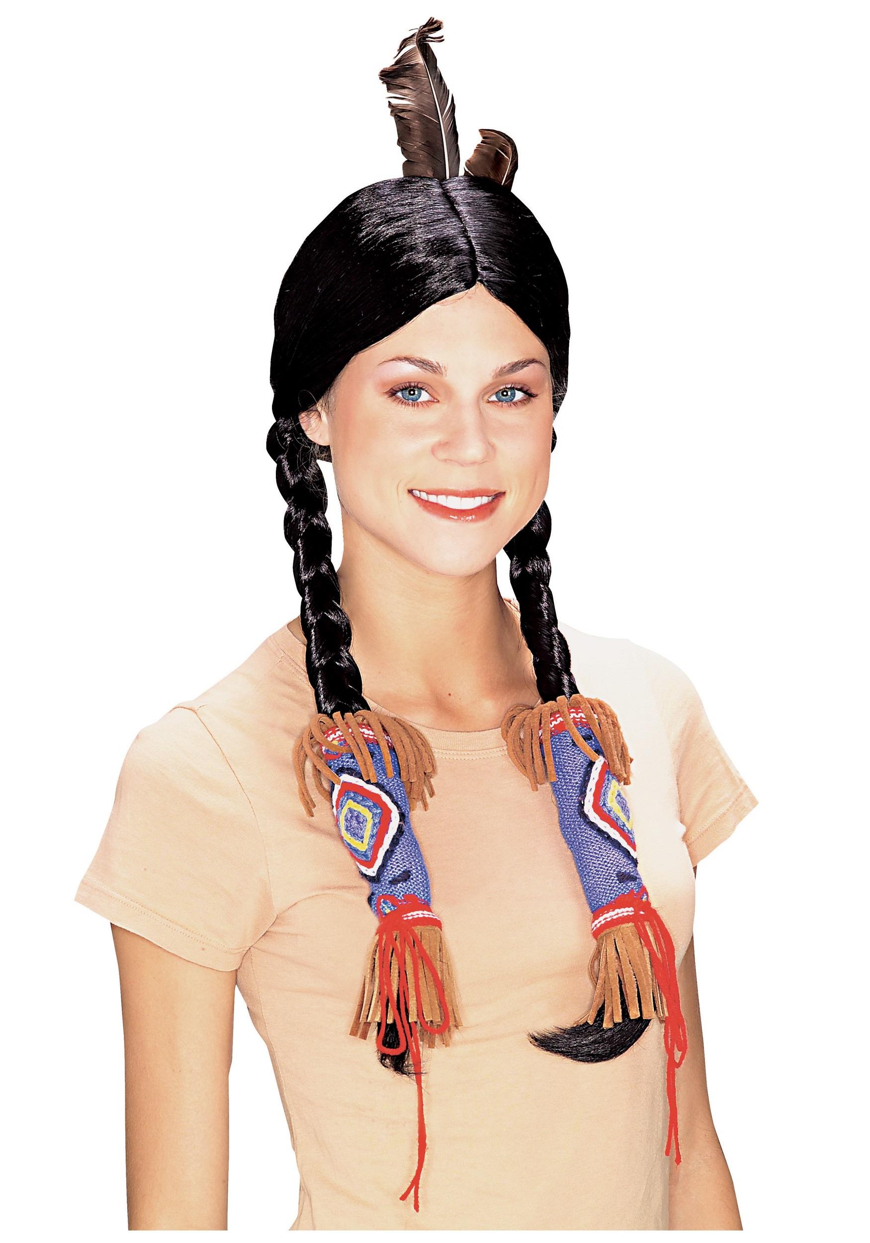 pocahontas indian wig
