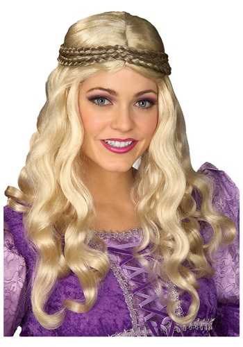 Renaissance Woman Blonde Wig