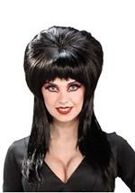 Sexy Black Elvira Wig