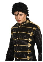 Michael Jackson 80s Wig