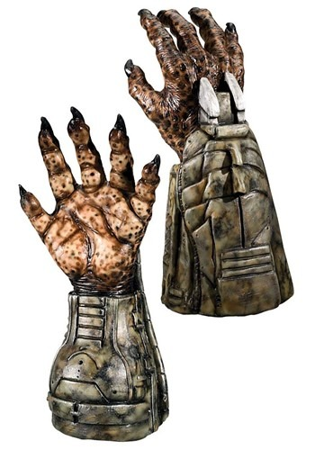 Deluxe Latex Predator Gloves