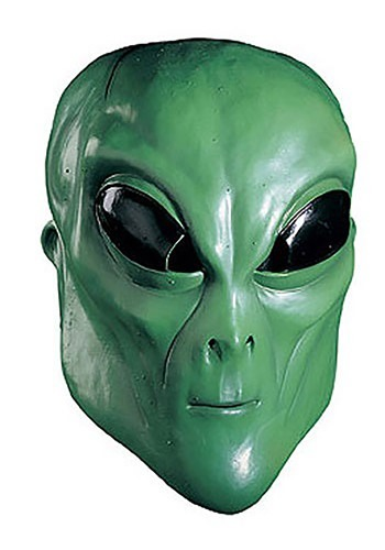 roswell green alien mask