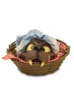 Bad Wolf Head Basket