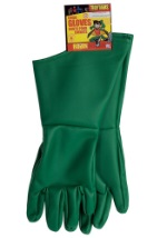 Green Robin Child Gloves