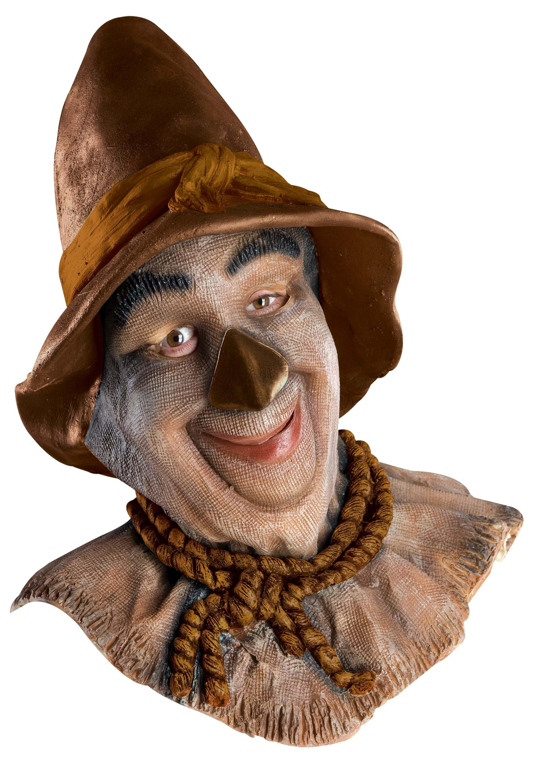 Latex Scarecrow Costume Mask - Adult Wizard of Oz Scarecrow Masks
