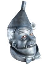 Latex Tin Man Costume Mask