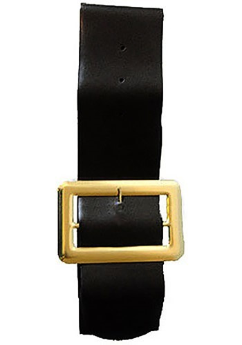 Four-Inch Black Vinyl Belt
