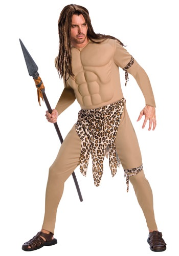 Mens Muscular Tarzan Costume