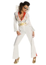 Sexy Elvis Concert Jumpsuit Costume