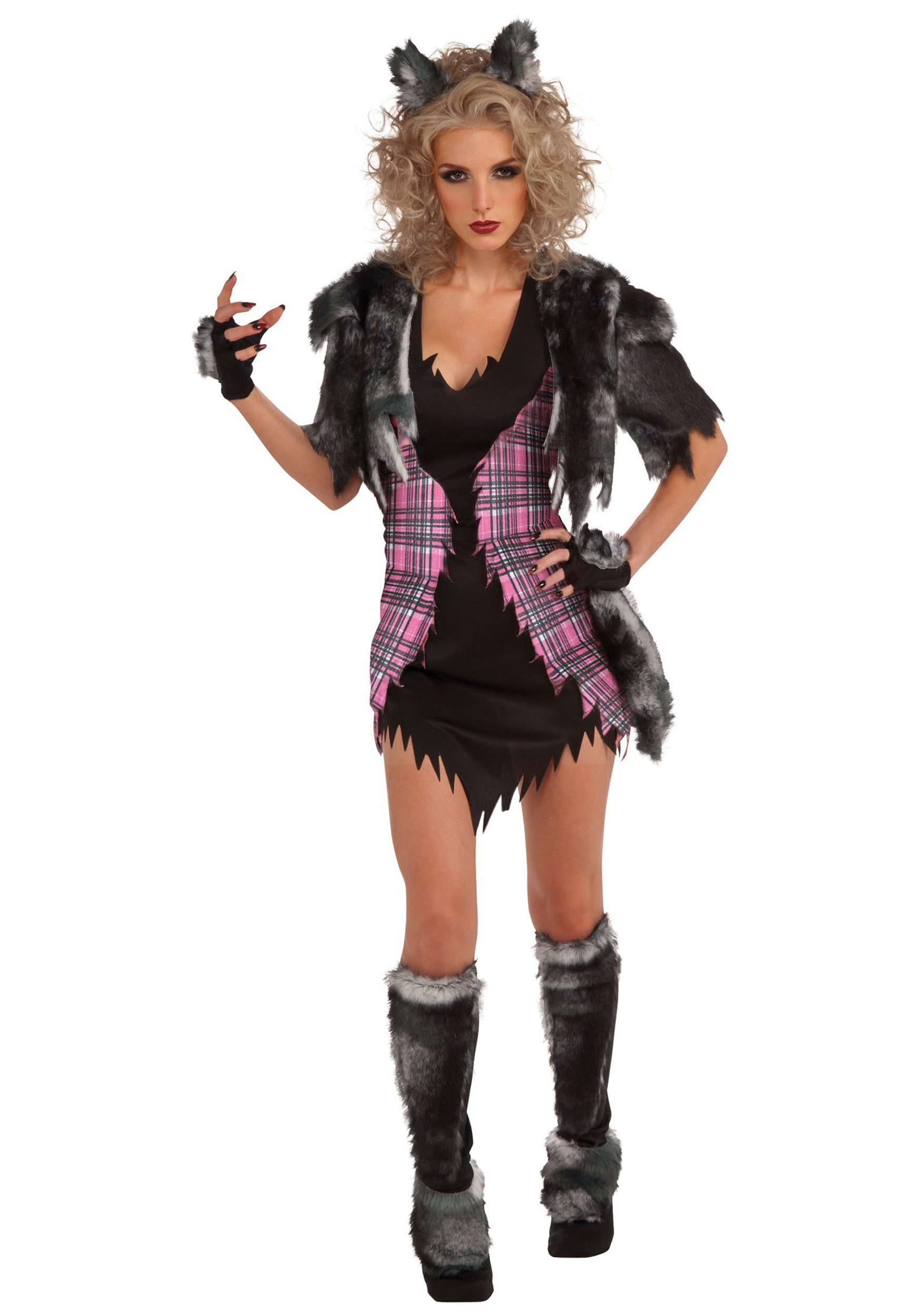 Naughty She Wolf Costume  sc 1 st  Halloween Costume & Naughty She Wolf Costume - Womens Werewolf Costume Ideas