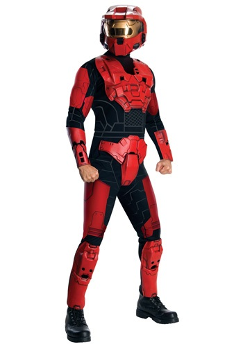 Deluxe Halo Red Spartan Jumpsuit