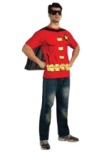 Adult Mens Robin T-Shirt Costume