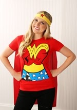 Superhero Wonder Woman T-Shirt Costume