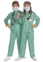 Kids ER Medical Doctor Costume