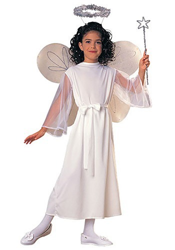 Girls Divine Angel Costume