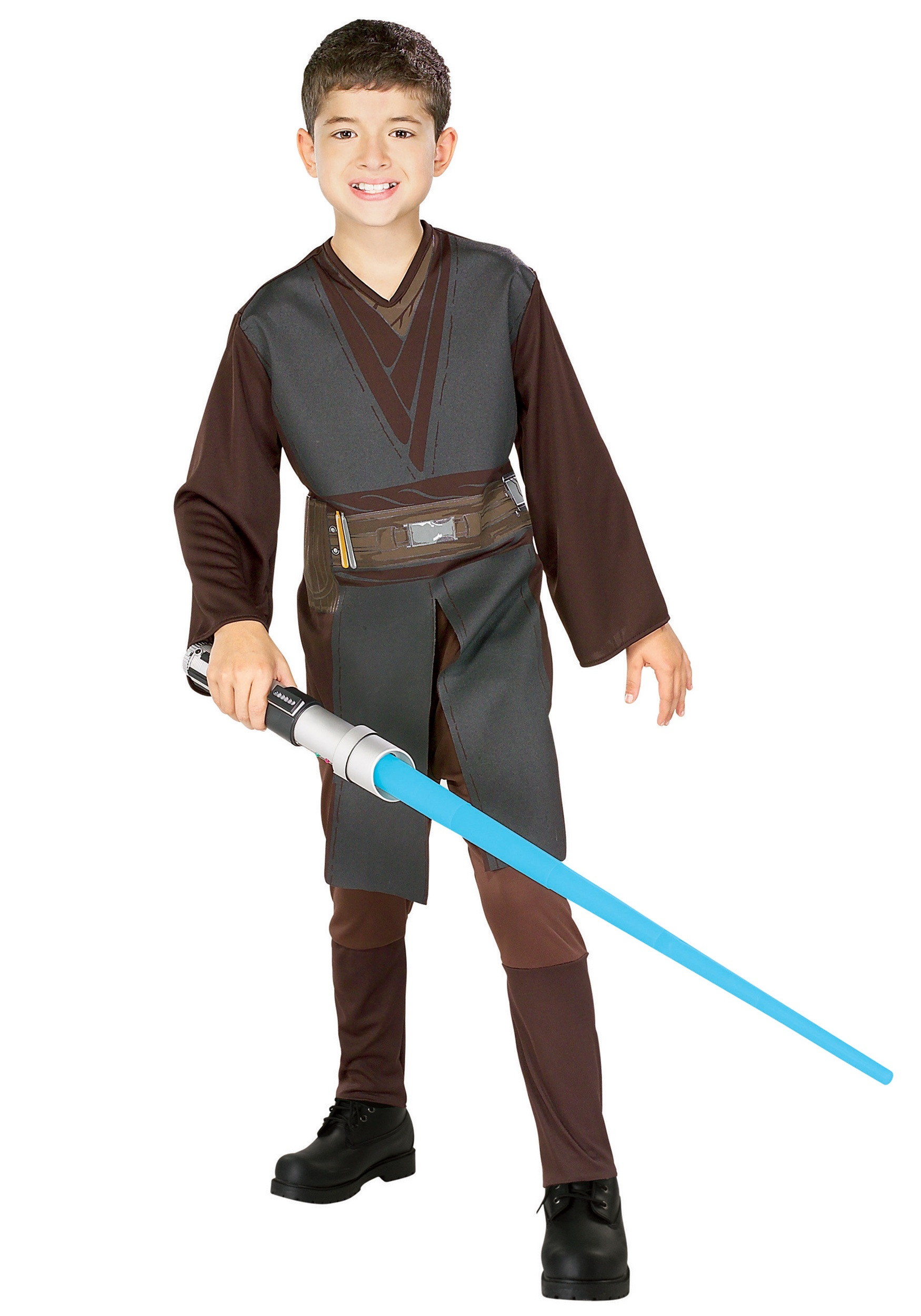 Kids Anakin Skywalker Costume Boys Star Wars Jedi Halloween Costumes
