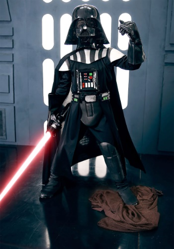Darth Vader Deluxe Boys Costume
