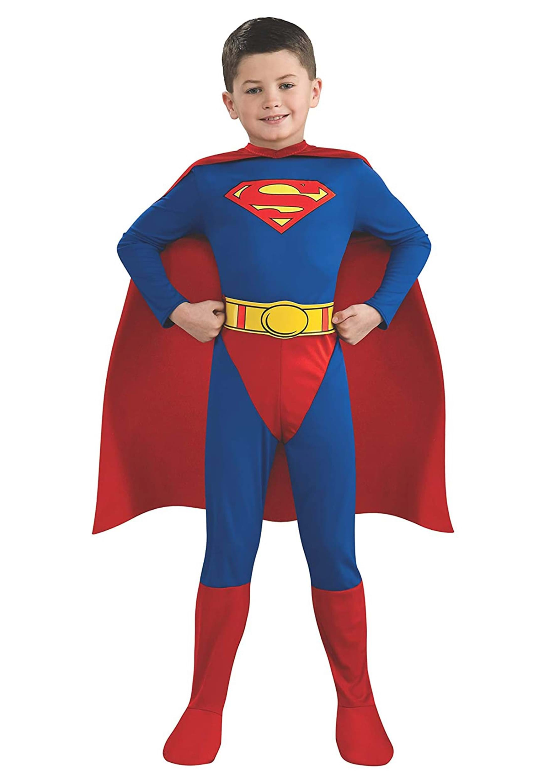 Childrens Superman Costume  sc 1 st  Halloween Costume & Childrens Superman Costume - Kids Superman Halloween Costumes