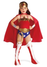 Girls Classic Wonder Woman Costume