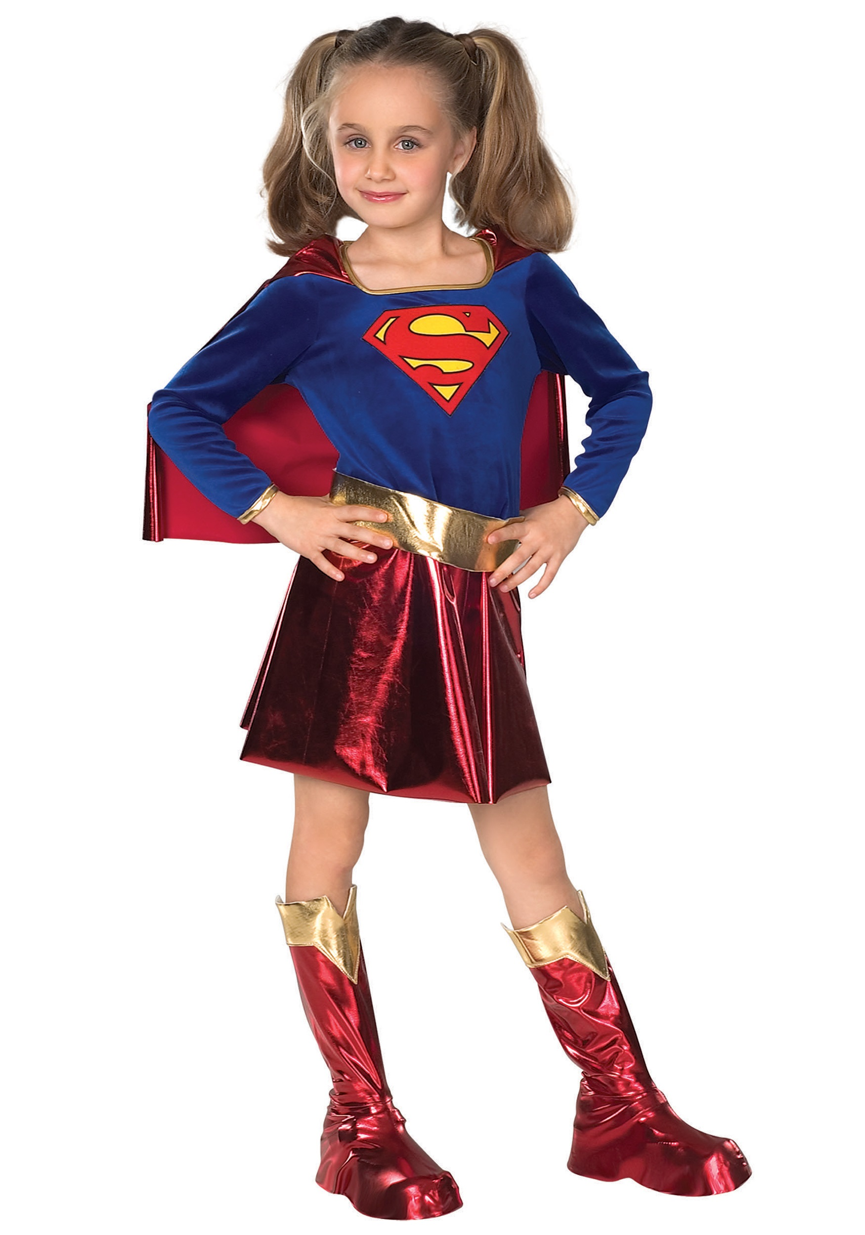 Kids Supergirl Costume  sc 1 st  Halloween Costume & Kids Supergirl Costume - Child Super Girl Superhero Halloween Costumes