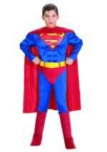 Childrens Deluxe Muscle Superman