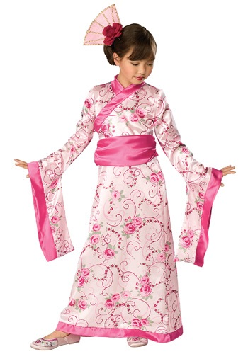 Girls Geisha Princess Costume
