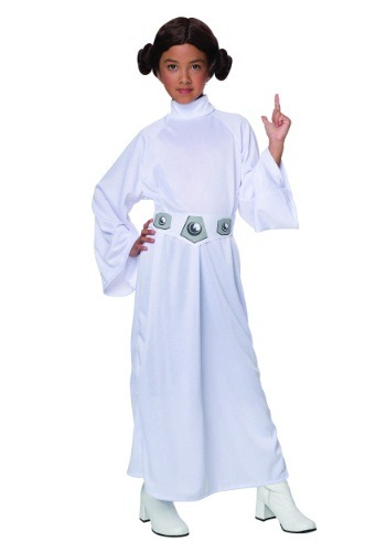 Girls Princess Leia Costume