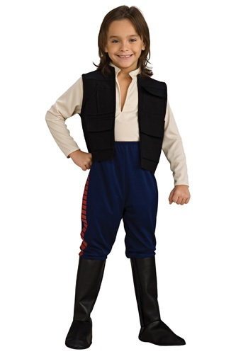 Deluxe Child Han Solo Costume