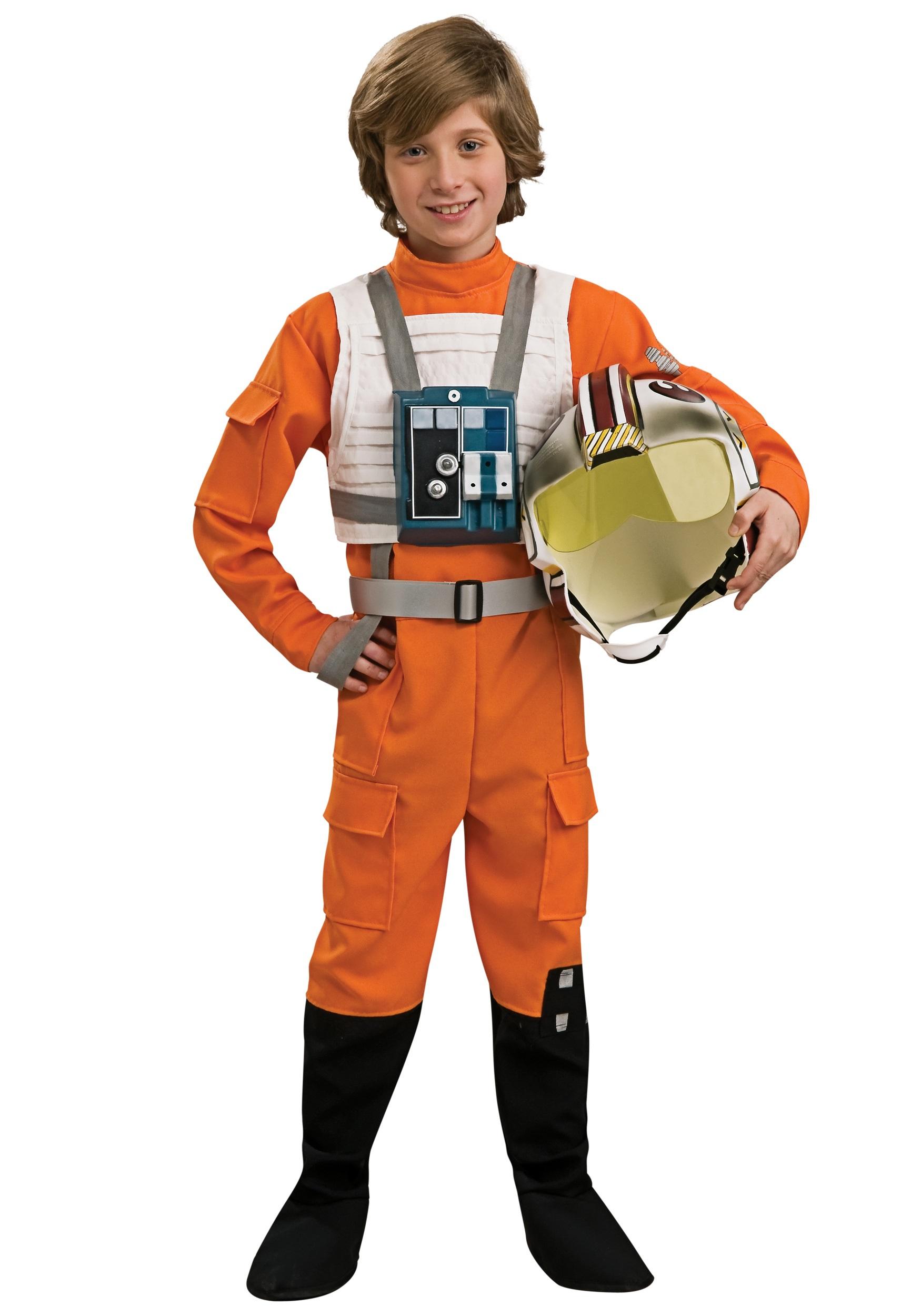 Original Costumes For Kids.Child X Wing Pilot Costume