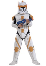 Deluxe Child Commander Cody Costume