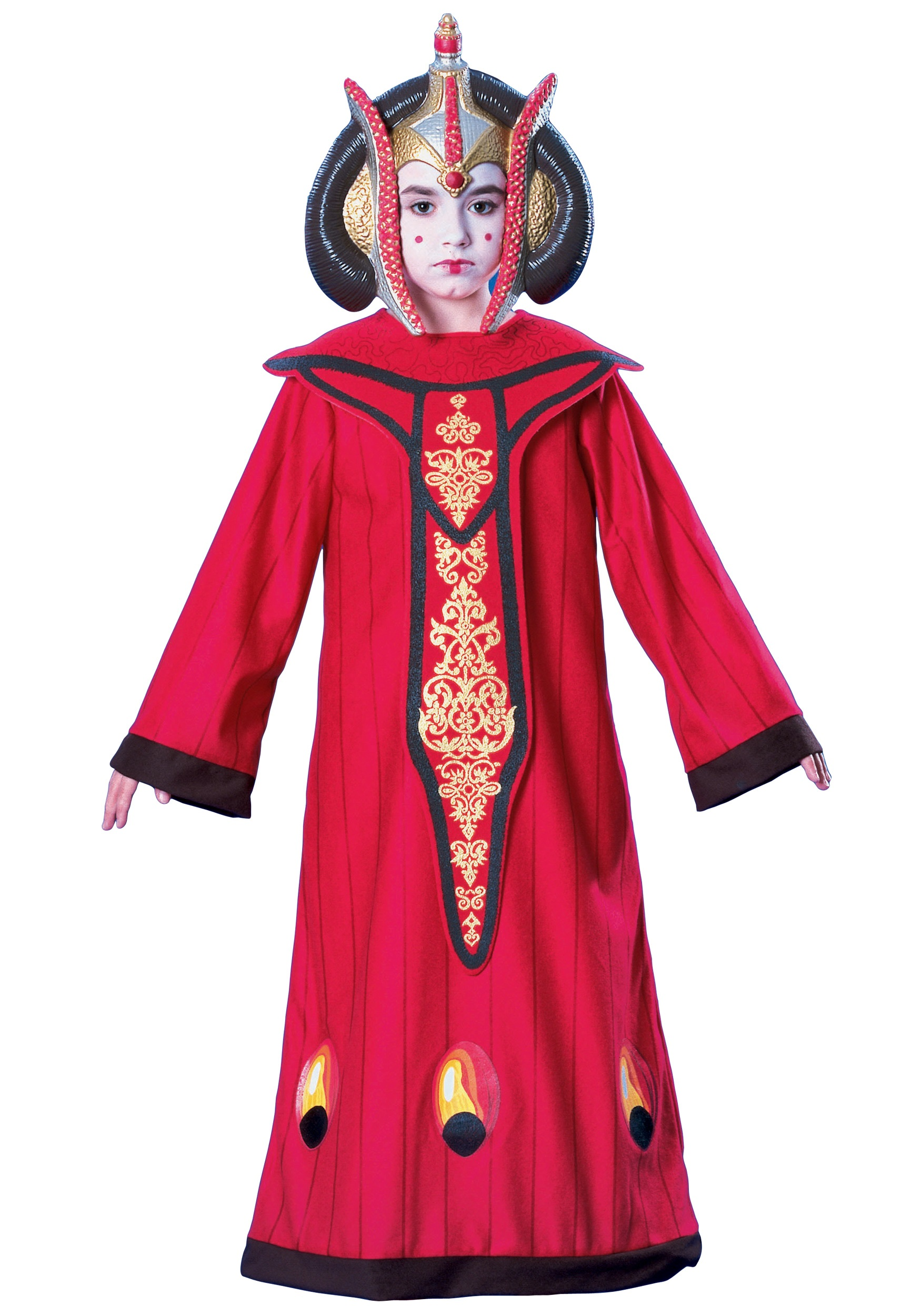 Star Wars Halloween Costumes.Kids Queen Amidala Costume