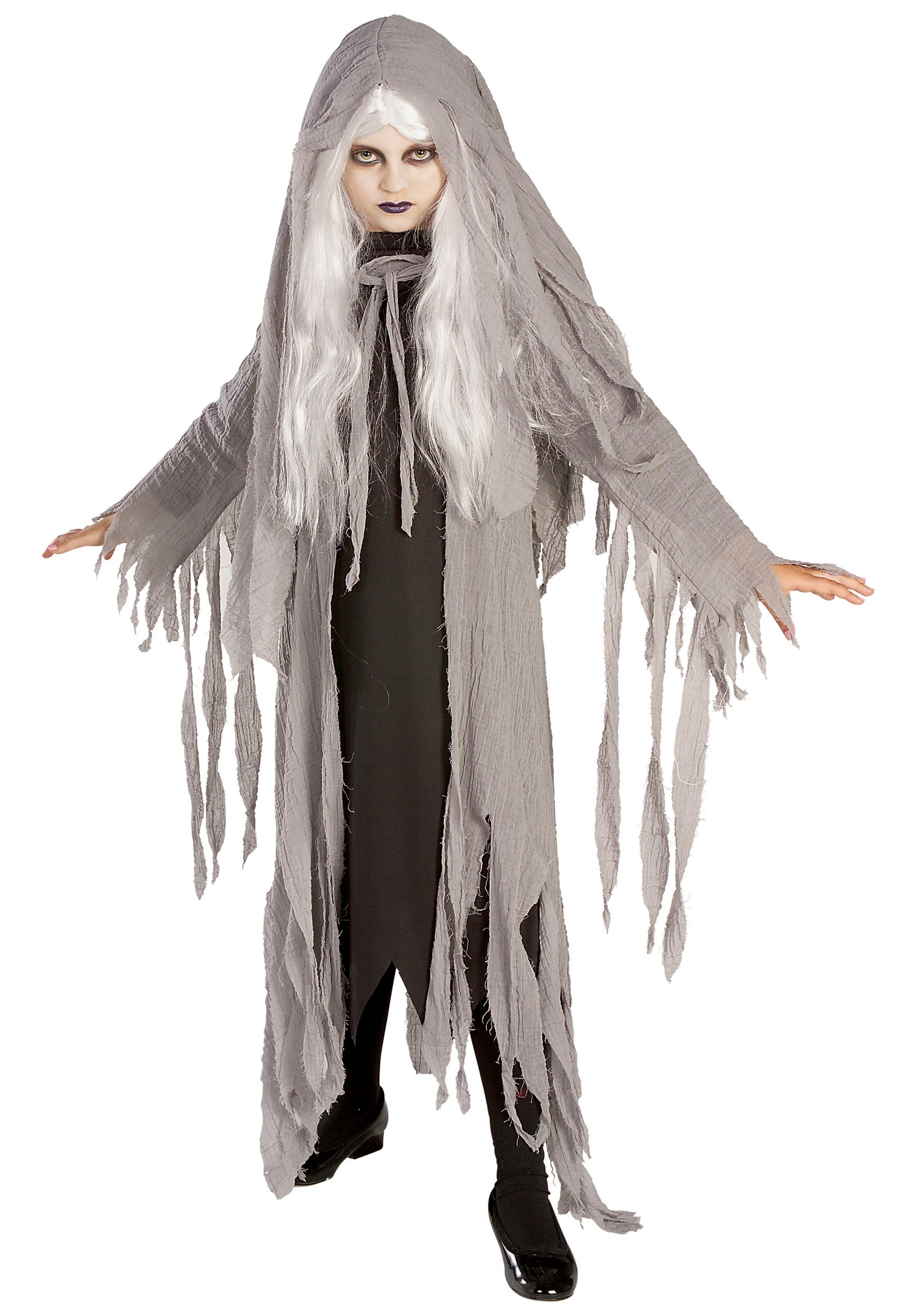 Halloween Costumes For Kids Scary.Child Midnight Ghost Costume