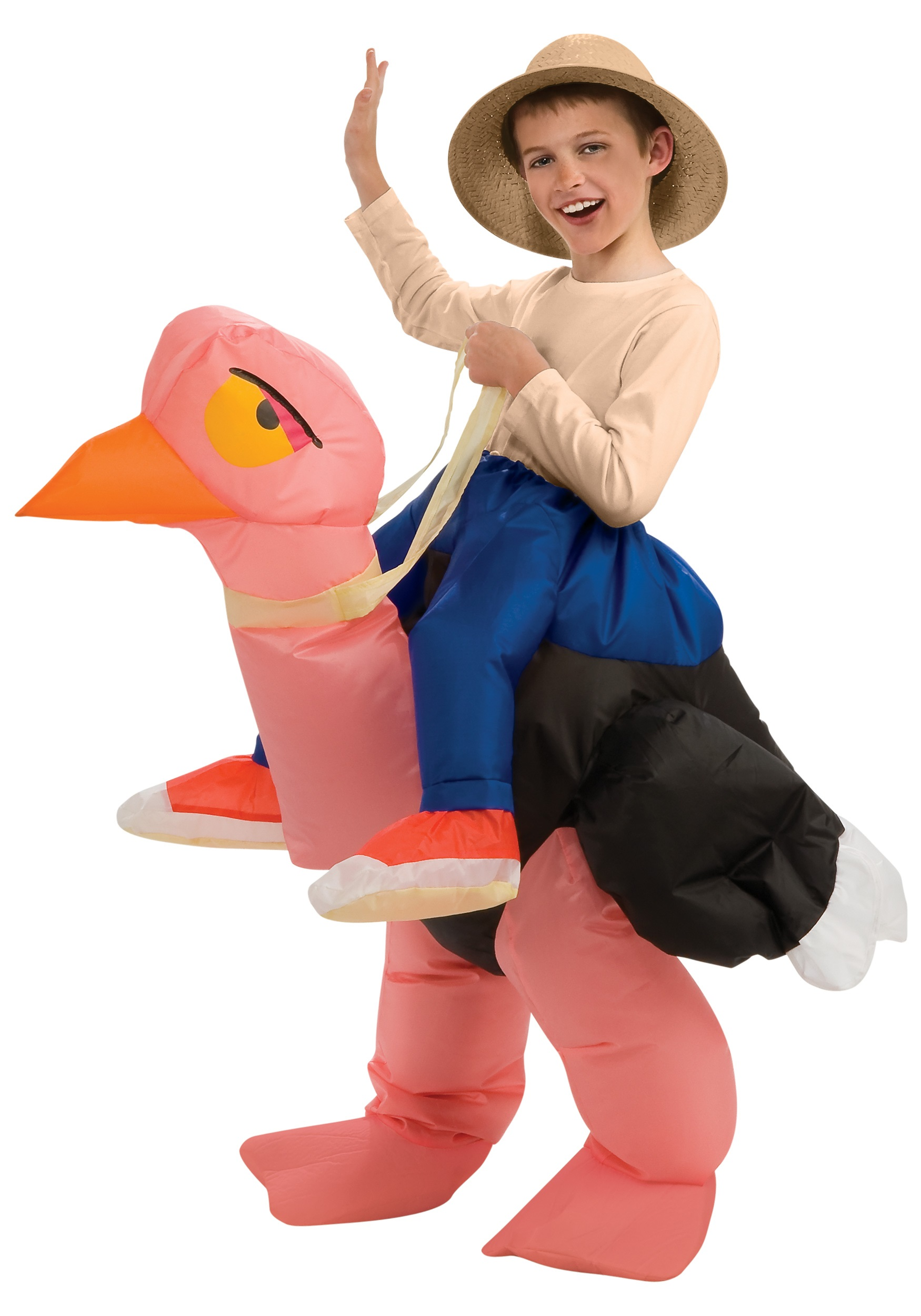 Child Inflatable Ostrich Costume  sc 1 st  Halloween Costume & Child Inflatable Ostrich Costume - Funny Kids Costumes