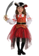 Girls Sea Pirate Princess Costume