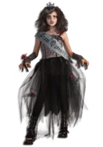Goth Girls Prom Queen Costume
