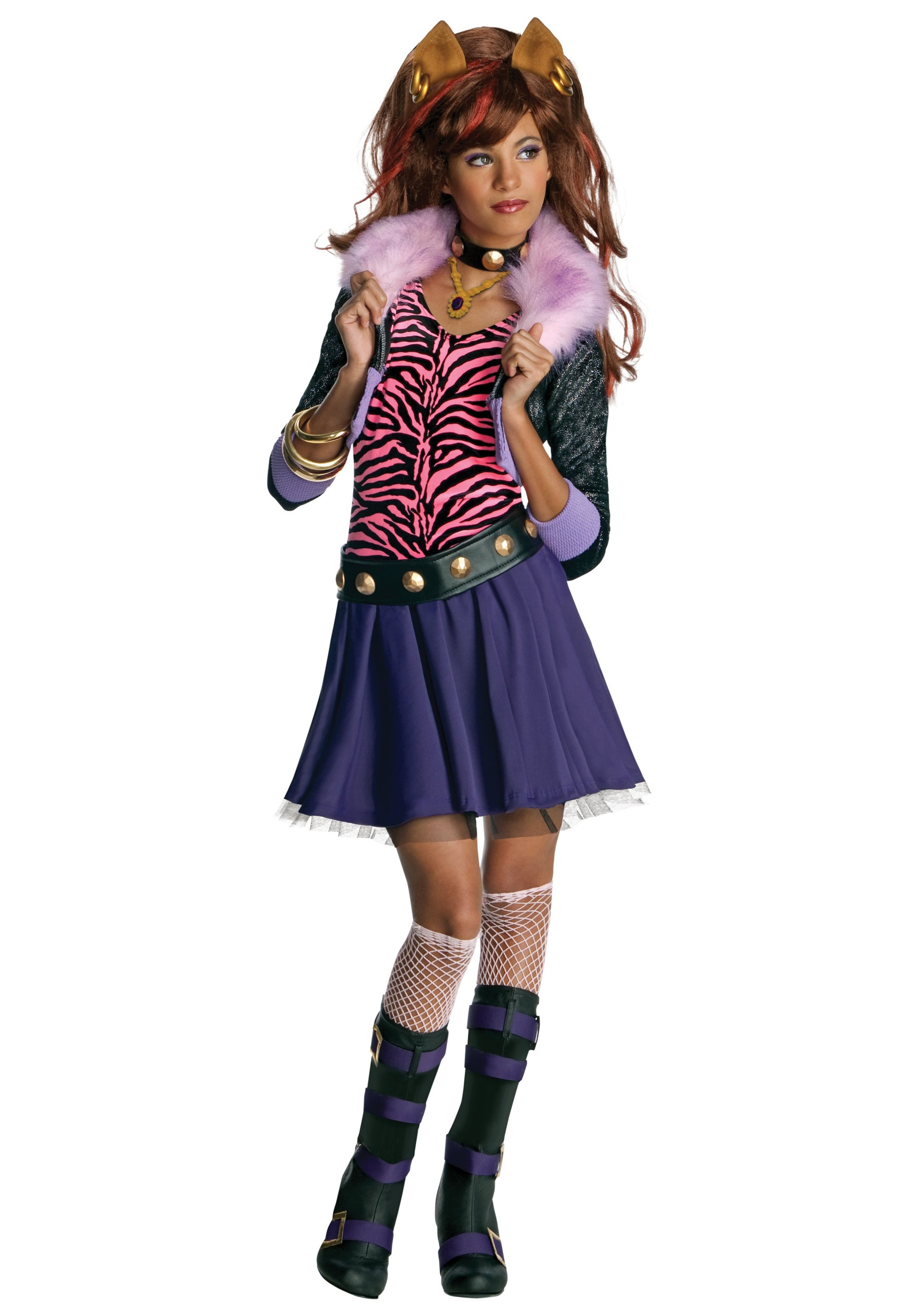 Clawdeen Wolf Child Costume  sc 1 st  Halloween Costume : costumes wolf  - Germanpascual.Com
