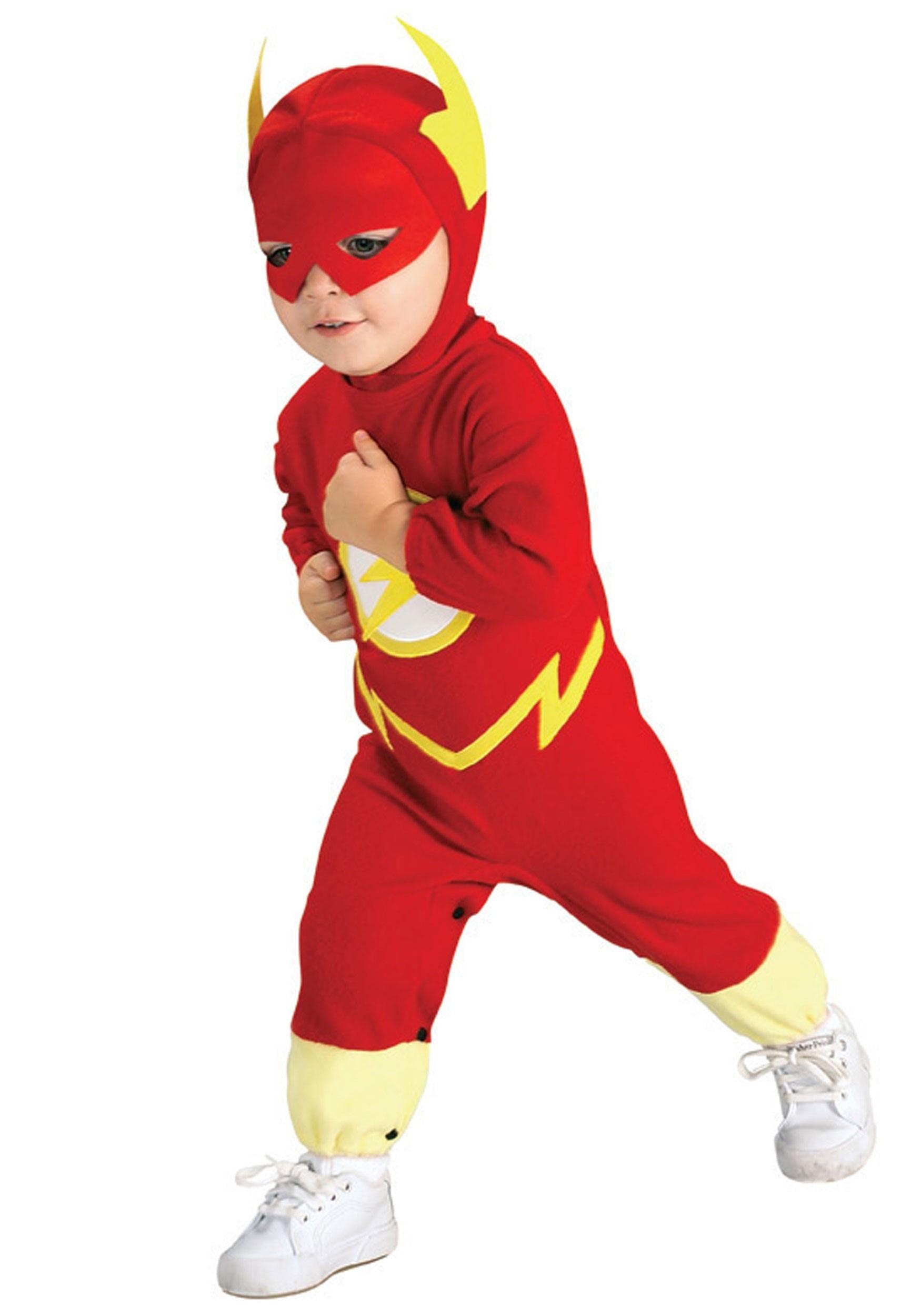 Boys Flash Infant Costume Baby Superhero Costumes