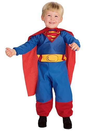 infant toddler little superman costume baby boy superhero costumes. Black Bedroom Furniture Sets. Home Design Ideas