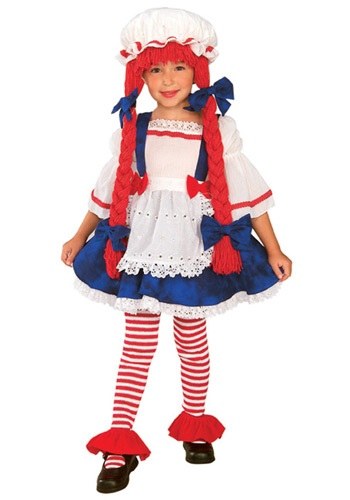 Toddler Rag Doll Girls Costume